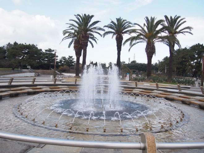 浜寺公園_噴水