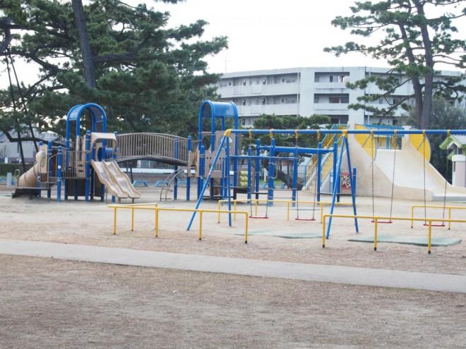 浜寺公園_中央遊具2