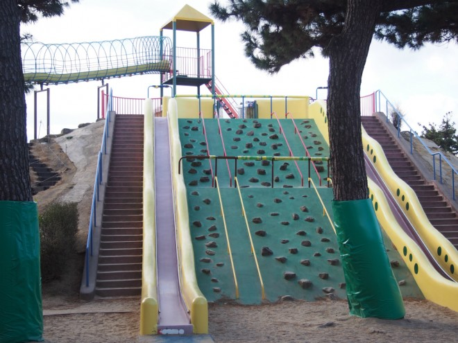 浜寺公園_タコ横滑り台