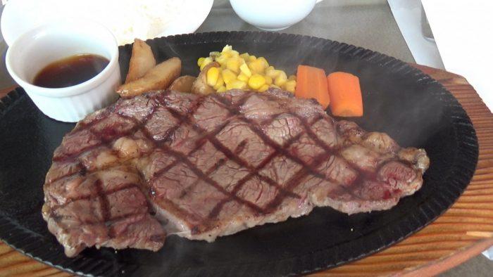 マザー牧場 柔らかくて美味しいステーキ