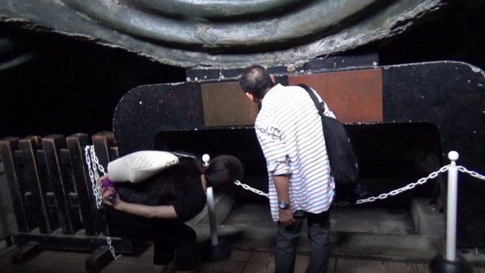 鎌倉大仏(高徳院) 大仏胎内空洞