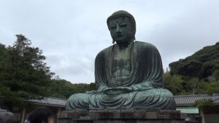 鎌倉大仏(高徳院) 大仏アップ