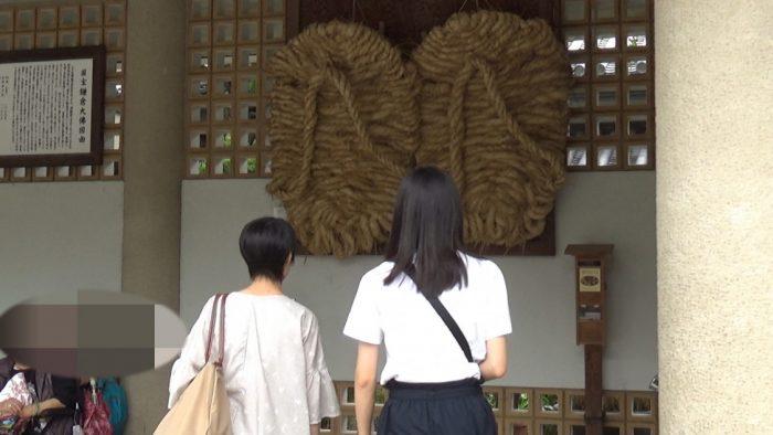 鎌倉大仏(高徳院) 大きなワラジ