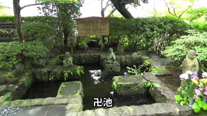 鎌倉長谷寺 卍池