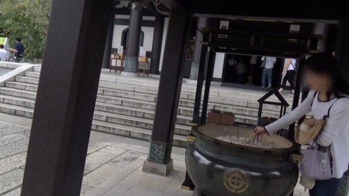 鎌倉長谷寺 線香