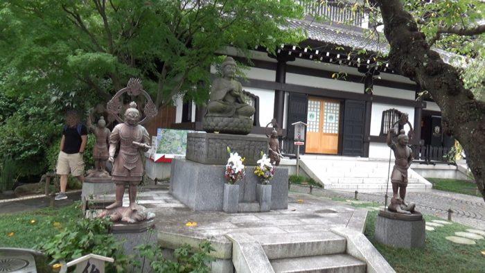 鎌倉長谷寺 石像