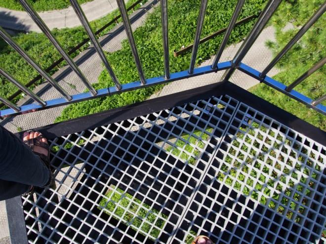 聖域の岬(珠洲岬)の空中展望台