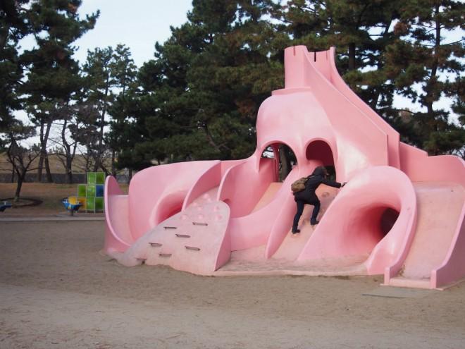 浜寺公園_タコ滑り台