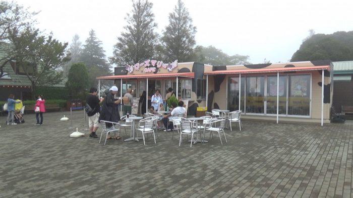 マザー牧場 ローズマリーカフェ