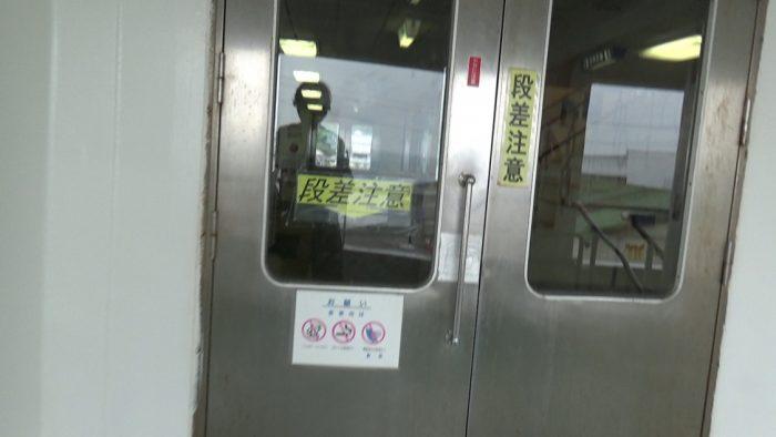 東京湾フェリー 客室入り口