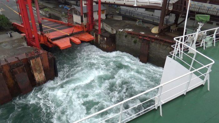東京湾フェリー 出船