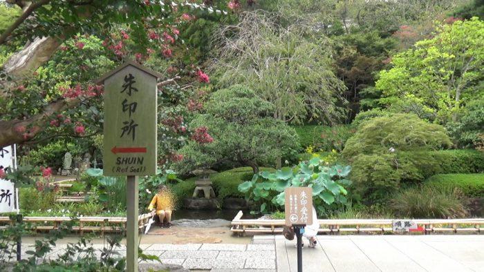 鎌倉長谷寺 入り口すぐの池