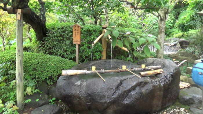 鎌倉長谷寺 手水舎