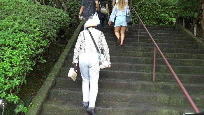 鎌倉長谷寺 階段